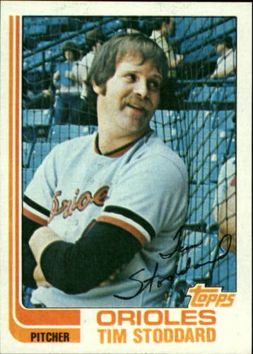 Photo of 1982 Topps #457 Tim Stoddard