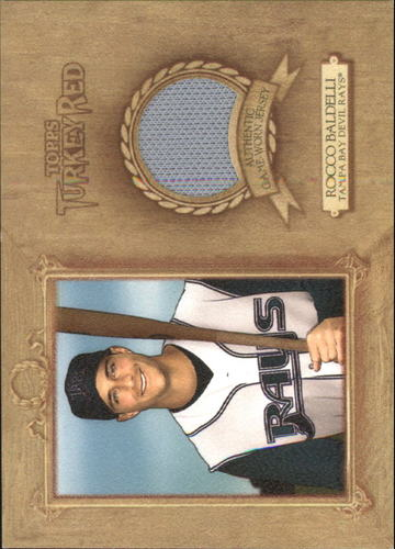 Photo of 2007 Topps Turkey Red Relics #RB1 Rocco Baldelli Jsy F