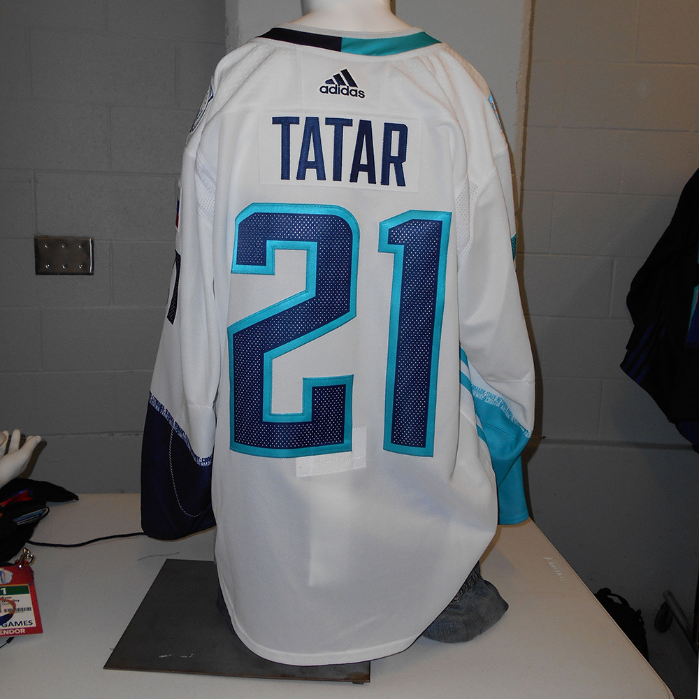 reputable site 189f7 3ed5b Tomas Tatar Detroit Red Wings Game-Used Away 2016 World Cup ...