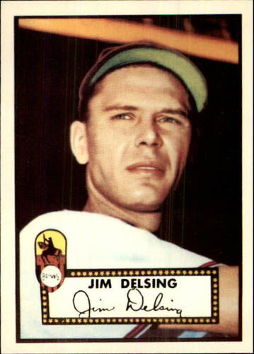 Photo of 1983 Topps 1952 Reprint #271 Jim Delsing