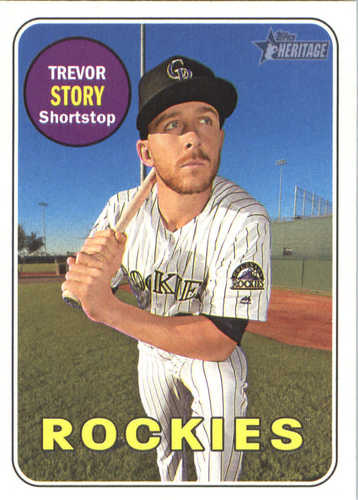 Photo of 2018 Topps Heritage #276 Trevor Story