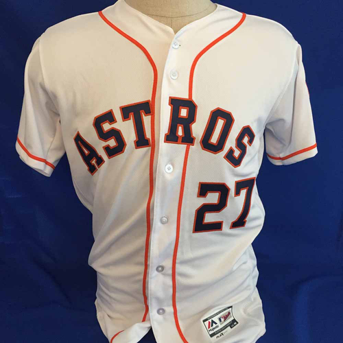 Photo of UMPS CARE AUCTION: Jose Altuve Astros Jersey Size 40