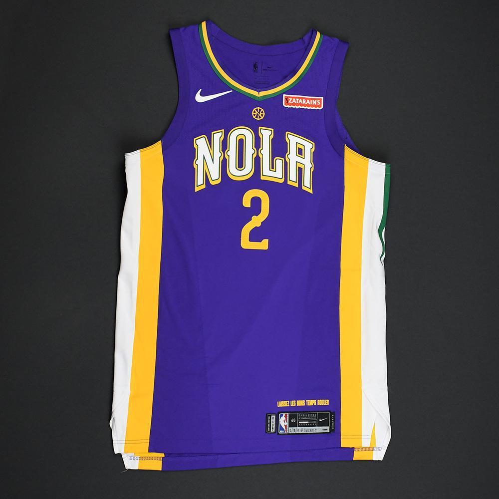 Ian Clark - New Orleans Pelicans - Game-Worn 'City' Jersey - 2017-18 Season