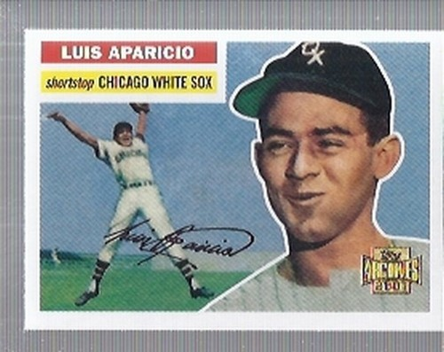 Photo of 2001 Topps Archives #50 Luis Aparicio 56