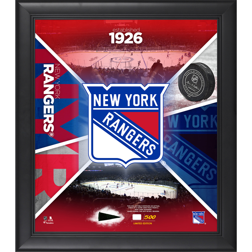 New York Rangers Framed 15
