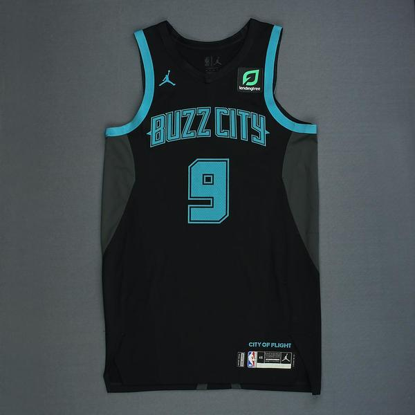 Tony Parker - Charlotte Hornets - Game-Worn City Edition Jersey ...