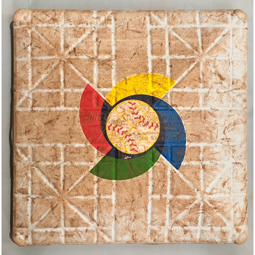 Photo of 2013 World Baseball Classic Game Used Base- 1st Base (Entire Game) (Puerto Rico vs United States)