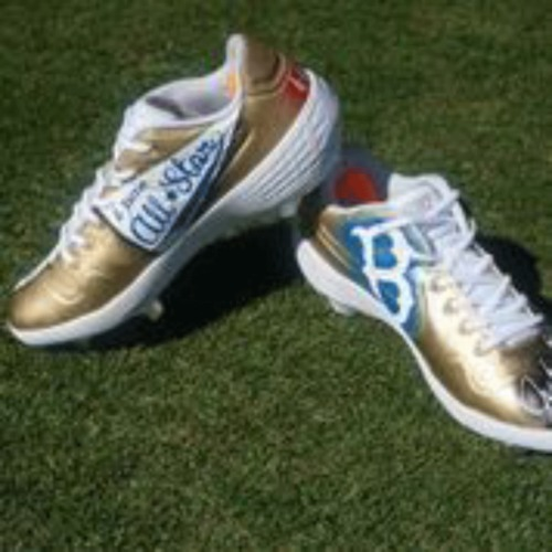 Photo of Jackie Robinson 42 Cleats - Gold