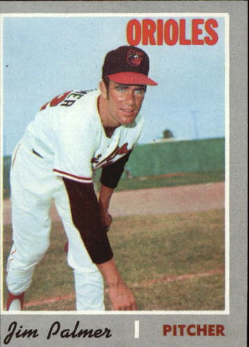 Photo of 1970 Topps #449 Jim Palmer