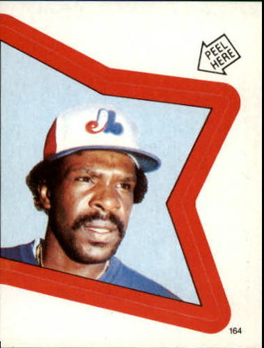 Photo of 1983 Topps Stickers #164 Andre Dawson