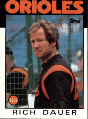 Photo of 1986 Topps #251 Rich Dauer