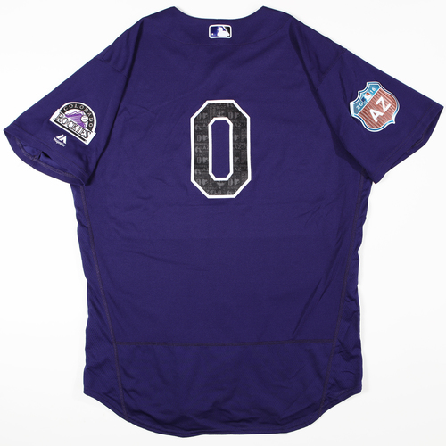 Photo of 2016 Spring Training - Spring Training Game Used Jersey - Adam Ottavino (Rockies)- Size- 48