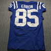 Crucial Catch - Colts Eric Ebron Signed Game Issued Jersey Size 42