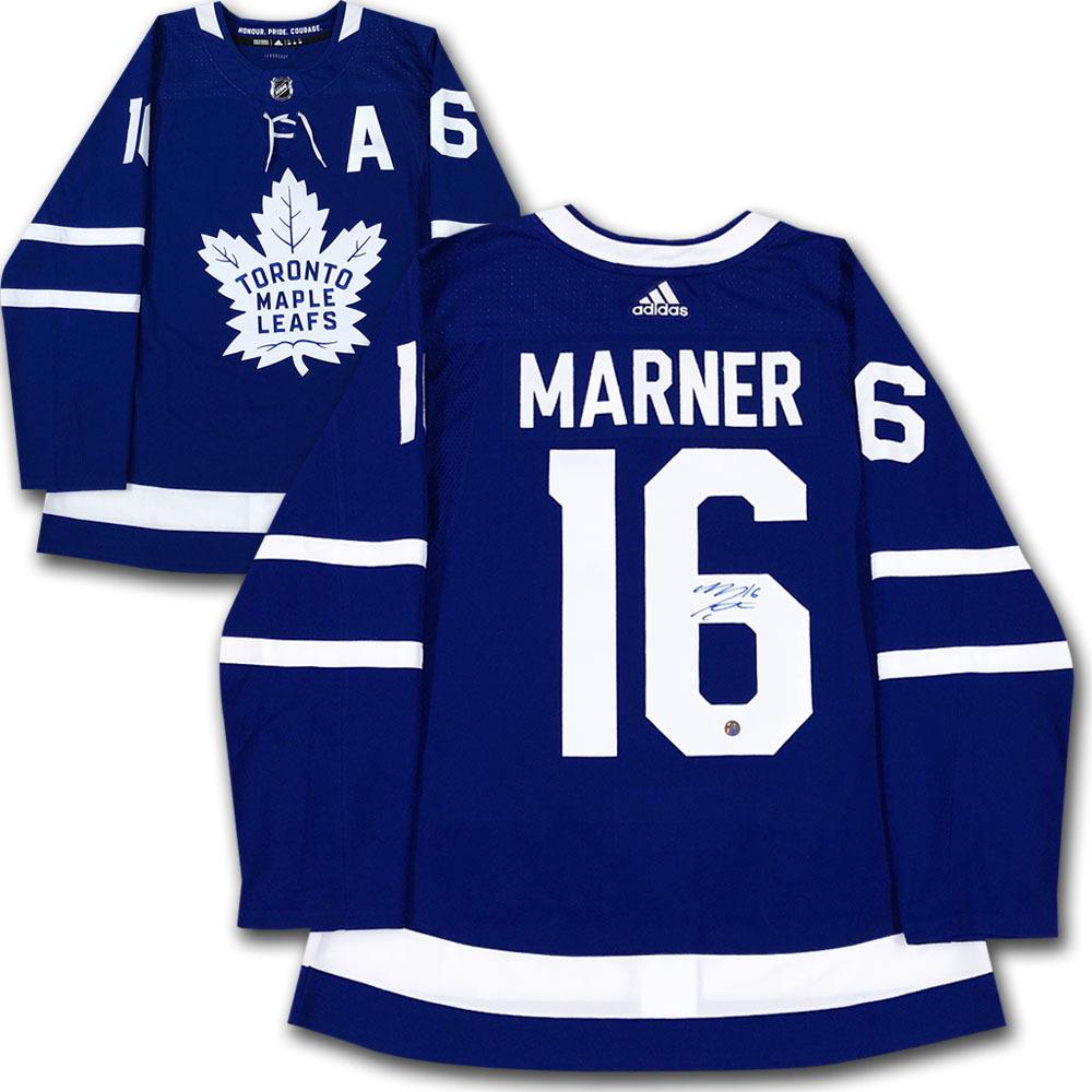 Mitch Marner Autographed Toronto Maple Leafs adidas Pro Jersey