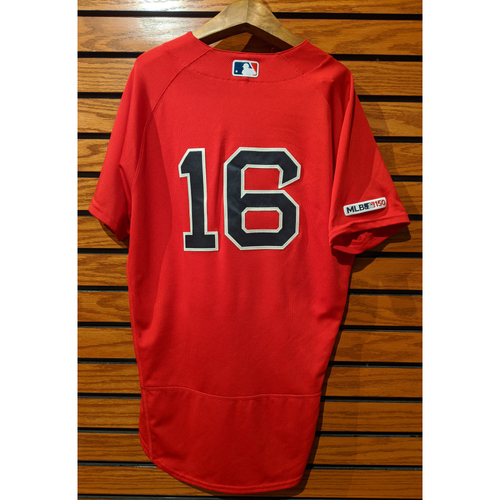 Andrew Benintendi Game Used Home Red Jersey