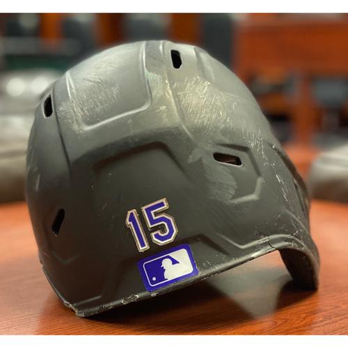 Photo of Colorado Rockies Team-Issued 2020 Helmet: Raimel Tapia
