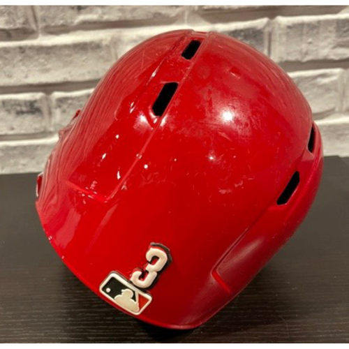 Photo of Freddy Galvis -- Team-Issued Helmet -- Left Ear Flap -- Size 7 5/8