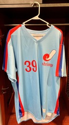 Photo of Jacksonville Expos Fauxback Jersey #39 Size 50