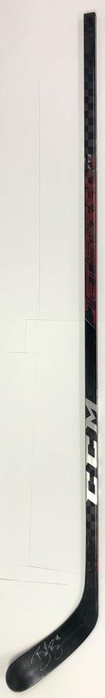 #88 Brent Burns Game Used Stick - Autographed - San Jose Sharks