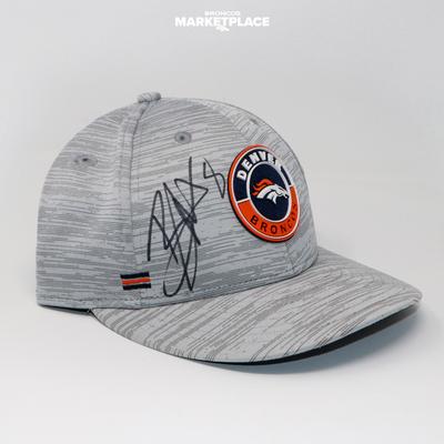 Photo of Brandon McManus Autographed New Era Broncos Hat