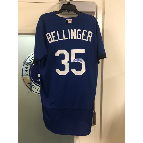 Photo of Cody Bellinger Authentic Autographed City Connect Jersey - Size 46