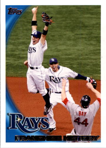 Photo of 2010 Topps #234 Tampa Bay Rays