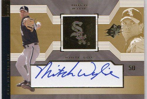 Photo of 2002 SPx #150 Mitch Wylie AU RC