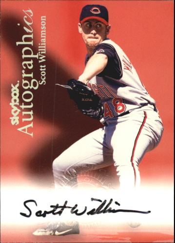 Photo of 2000 SkyBox Autographics #127 Scott Williamson