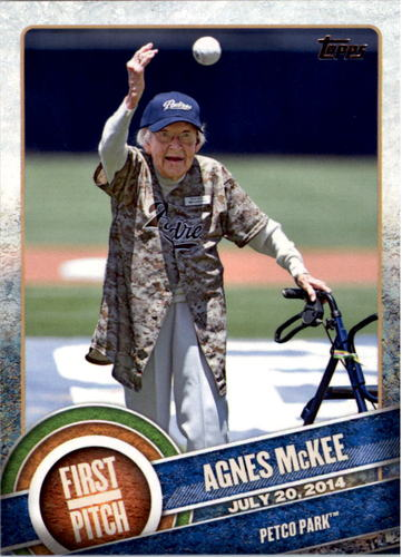 Photo of 2015 Topps First Pitch #FP06 Agnes McKee