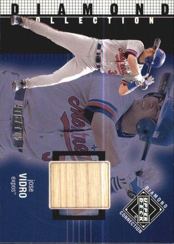 Photo of 2002 Upper Deck Diamond Connection #392 Jose Vidro DC Bat