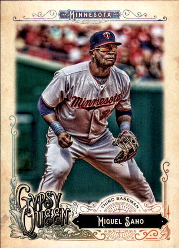 Photo of 2017 Topps Gypsy Queen #190 Miguel Sano
