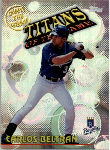 Photo of 2000 Topps Own the Game #OTG26 Carlos Beltran