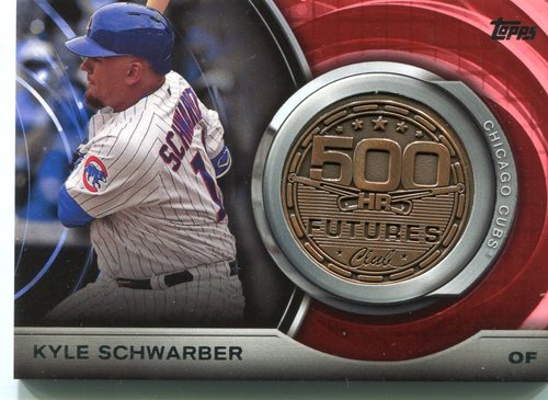 Photo of 2016 Topps Update 500 HR Futures Club Medallions Kyle Schwarber