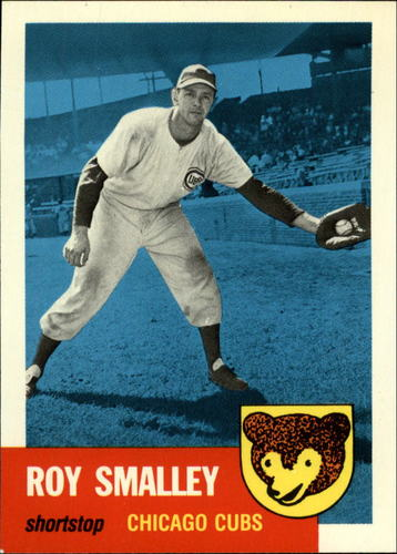 Photo of 1991 Topps Archives 1953 #297 Roy Smalley