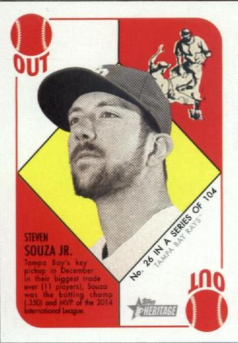 Photo of 2015 Topps Heritage '51 Collection #26 Steven Souza Jr.