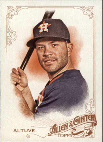 Photo of 2015 Topps Allen and Ginter #140 Jose Altuve