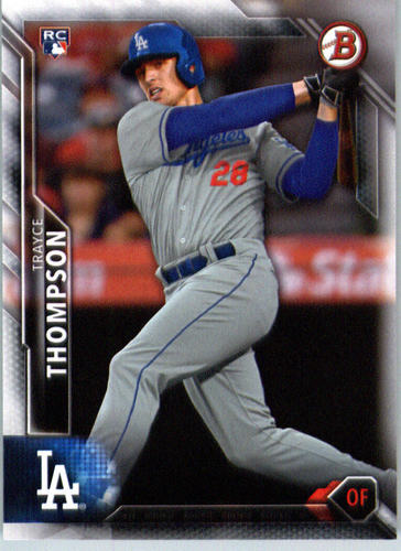 Photo of 2016 Bowman #145 Trayce Thompson RC