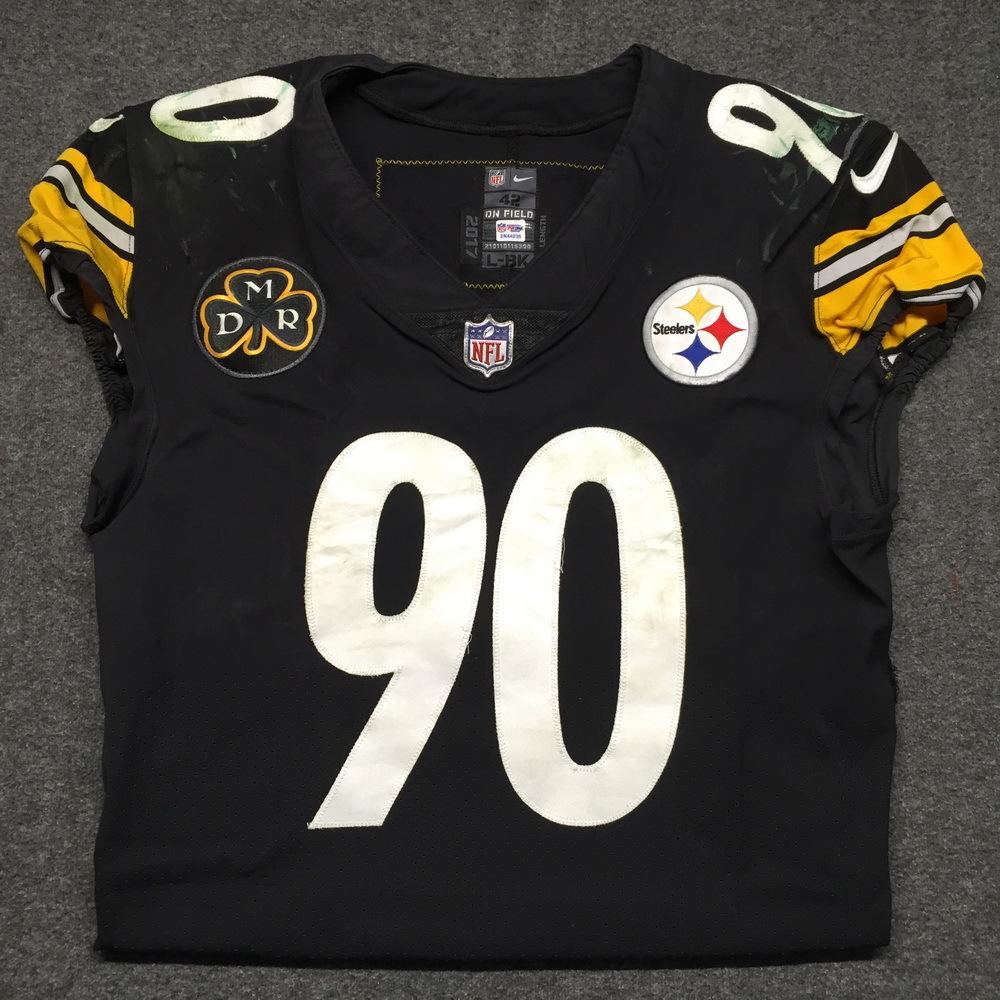 best service 65378 a8e3b NFL Auction | Crucial Catch - Steelers T.J. Watt game worn ...