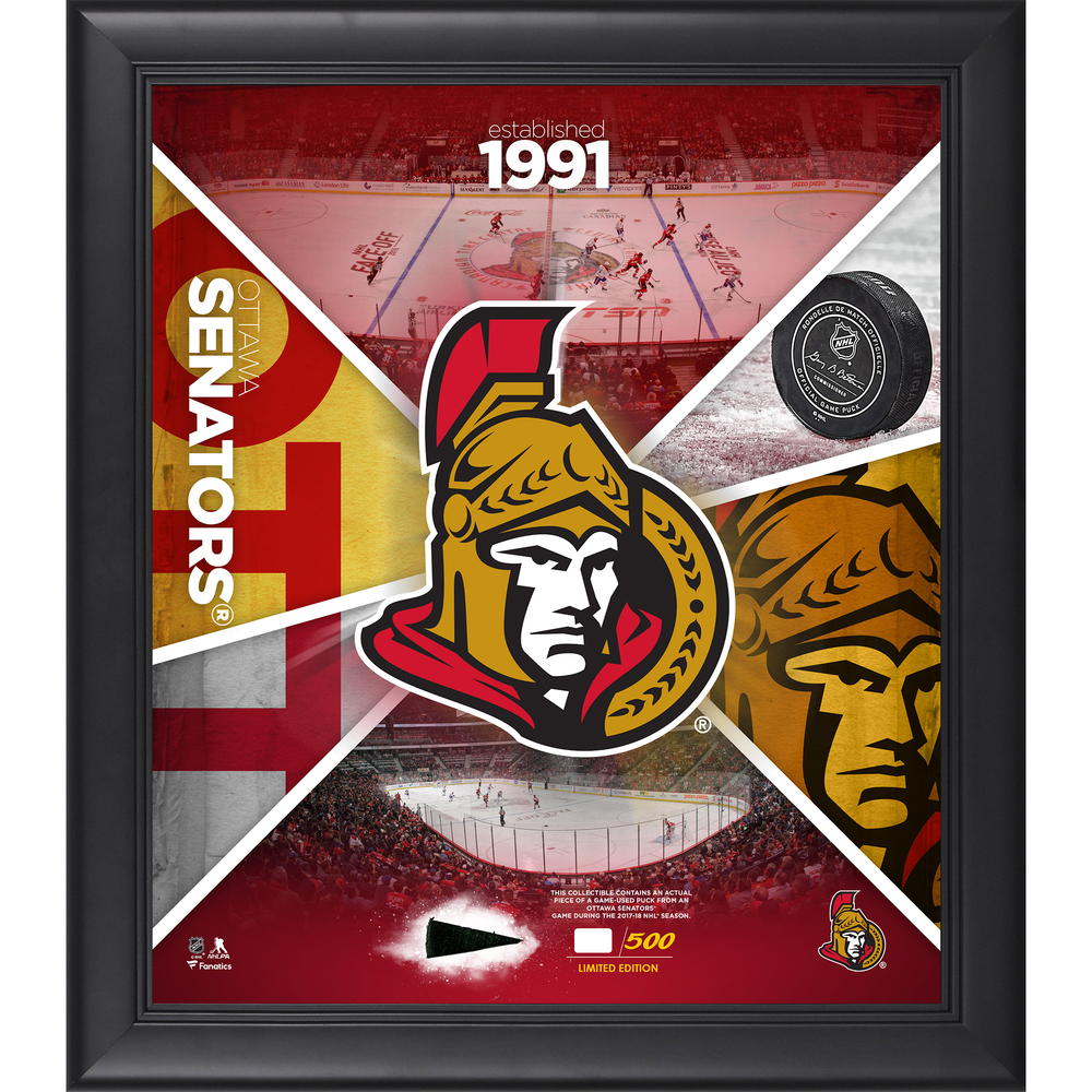 Ottawa Senators Framed 15