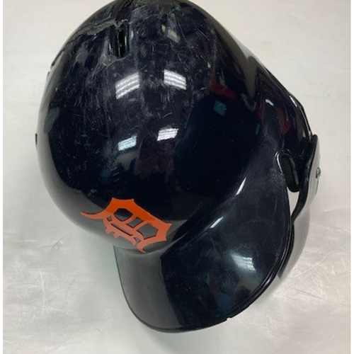 Photo of Game-Used Road Helmet: JaCoby Jones