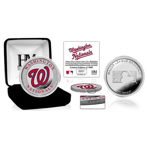Photo of Washington Nationals Silver Color Coin