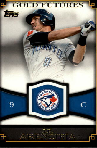 Photo of 2012 Topps Gold Futures #GF12 J.P. Arencibia