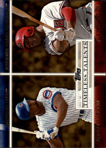 Photo of 2012 Topps Timeless Talents #TT16 Andre Dawson/Justin Upton