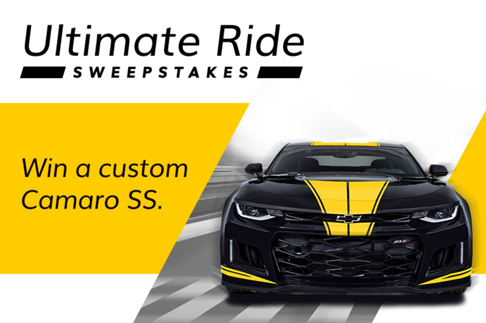 Photo of Ultimate Ride Sweepstakes
