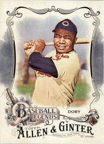 Photo of 2016 Topps Allen and Ginter Baseball Legends #BL14 Larry Doby