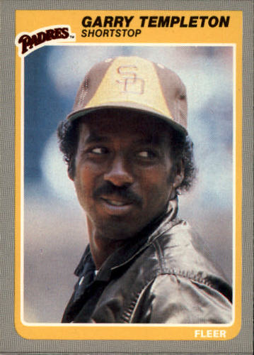 Photo of 1985 Fleer #45 Garry Templeton