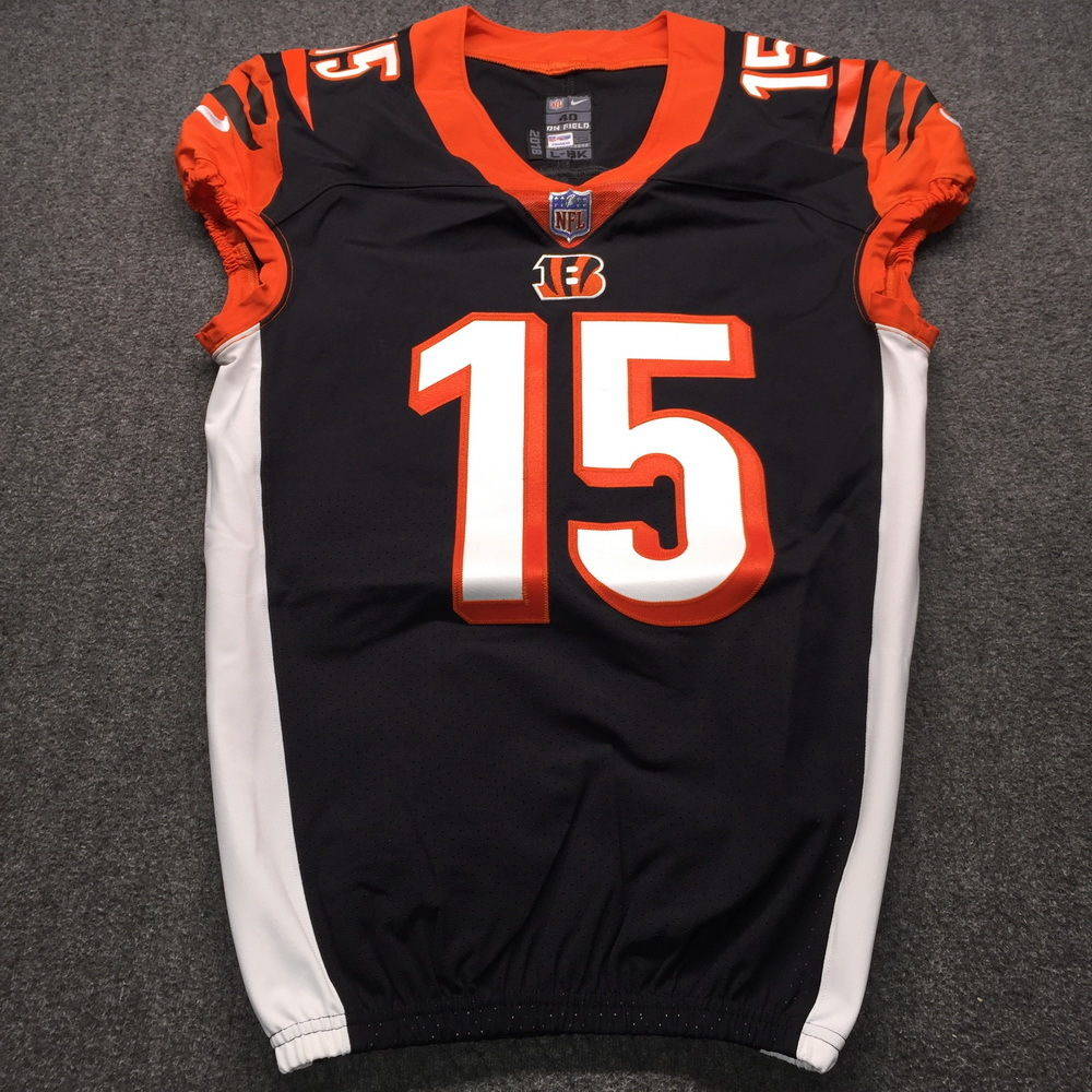 NFL Auction   Crucial Catch - Bengals John Ross Signed Game Issued ...