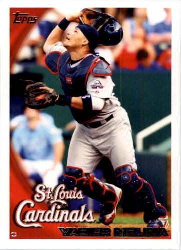 Photo of 2010 Topps #476A Yadier Molina