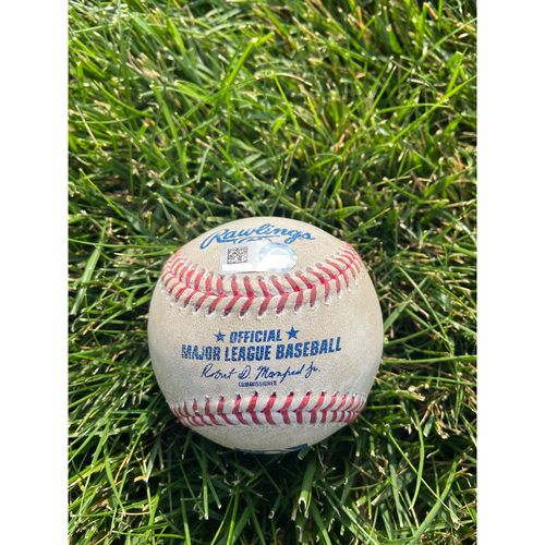 Cardinals Authentics: Game Used Baseball Pitched by Amir Garrett to Paul Goldschmidt *Home Run*