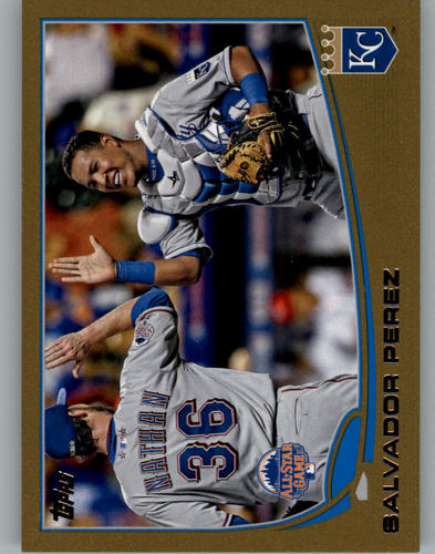 Photo of 2013 Topps Update Gold #US98 Salvador Perez